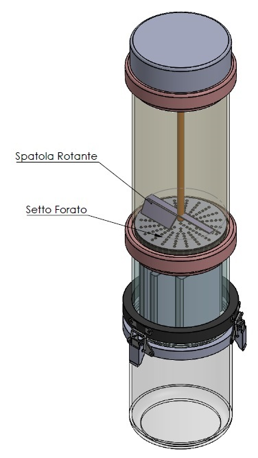 Sistema di filtraggio bava